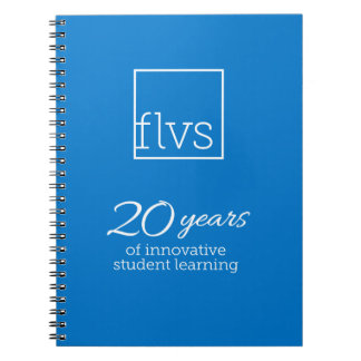 FLVS 20 Years Notebook