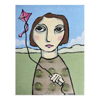 Fly a Kite Postcard