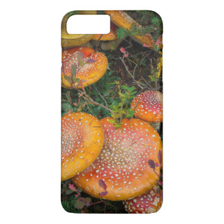 Fly agaric mushrooms at Mowich Lake iPhone 7 Plus Case
