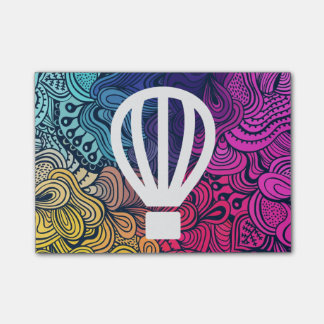 Fly Airballoons Minimal Post-it® Notes