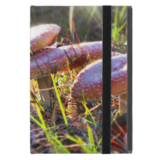 Fly Amanita in the Woodlands iPad Mini Cover