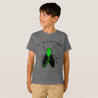 Fly as a mother baby shirt 72marketing shirt funny