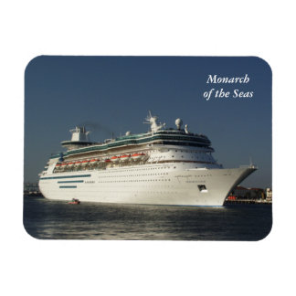Fly Away! Cruise Ship Magnet