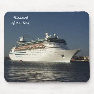 Fly Away! Cruise Ship Mousepad