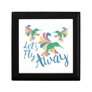 Fly Away Small Square Gift Box