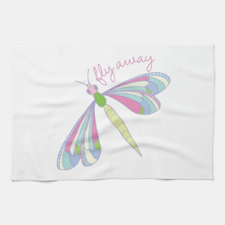 Fly Away Tea Towel