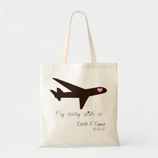 Fly Away with us Canvas Bags