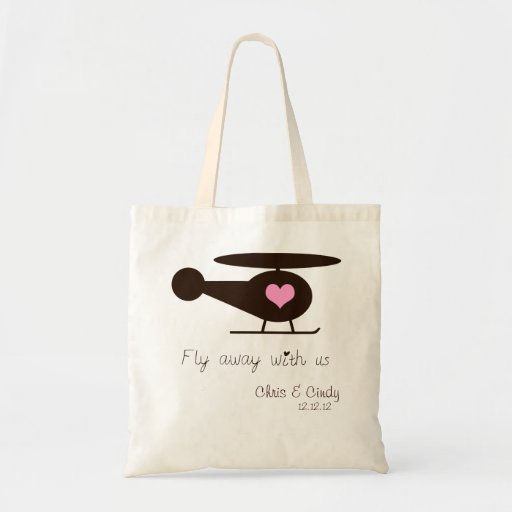 Fly Away with us: helicopter Bag