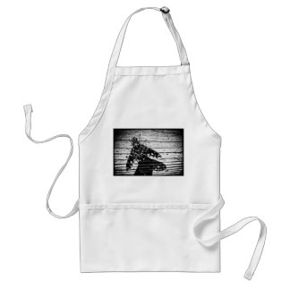 fly back adult apron