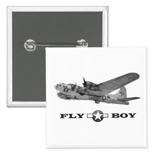 Fly Boy & Flying Fortress Button