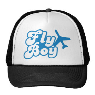 FLY BOY with aeroplane jet Cap