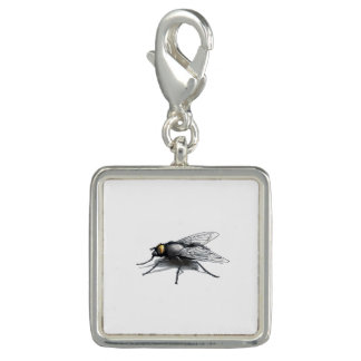 Fly Buddy square charm
