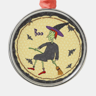 Fly by Night Witch Ornament