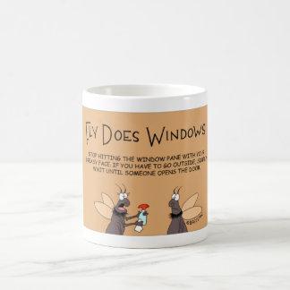 Fly does Windows Coffee Mug