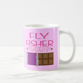Fly Fisher Chocolate Gift for Her Coffee Mug