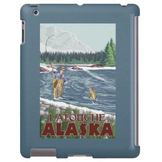 Fly Fisherman - Latouche, Alaska