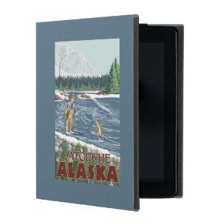 Fly Fisherman - Latouche, Alaska Cases For iPad