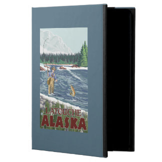 Fly Fisherman - Latouche, Alaska Case For iPad Air