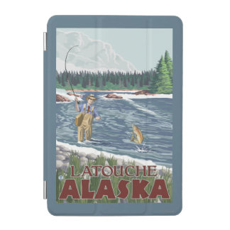 Fly Fisherman - Latouche, Alaska iPad Mini Cover