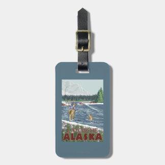 Fly Fisherman - Latouche, Alaska Tags For Bags