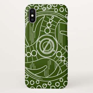 Fly Fisherman's Fly Fishing Reel iPhone X Case