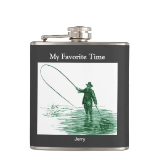 Fly Fishermans Hip Flask
