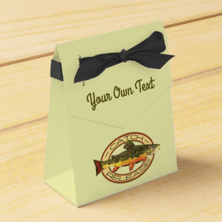 Fly Fishing Catch Release Party Favour Box