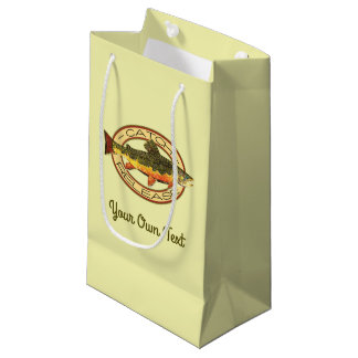 Fly Fishing Catch Release Party Small Gift Bag