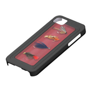 Fly Fishing flies Case For The iPhone 5