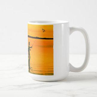 Fly Fishing image for Classic-White-Mug Coffee Mug