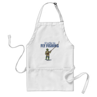 Fly Fishing in Waders Standard Apron