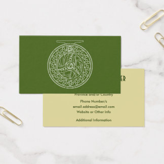 Fly Fishing Reel Art for Fans of Fly Fishing Business Card