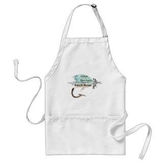 Fly Fishing Tee Shirts, Gifts and Novelties Apron