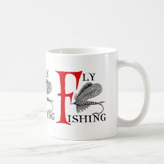 Fly Fishing With Fishing Lure Coffee Mug