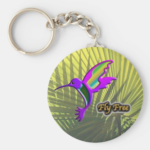 Fly Free #10 Keychains