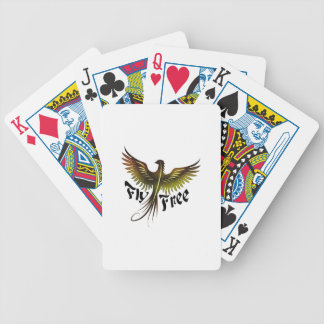 Fly Free Bicycle Playing Cards