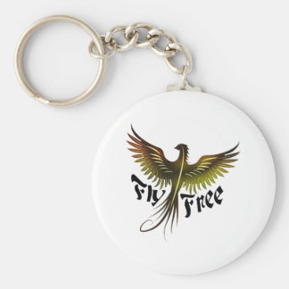 Fly Free Key Ring