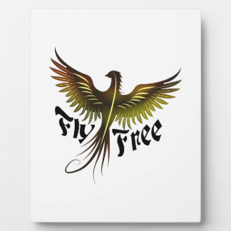 Fly Free Plaque