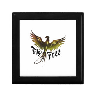 Fly Free Small Square Gift Box