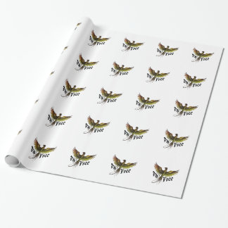 Fly Free Wrapping Paper