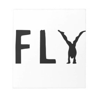 Fly funny text and human design notepad