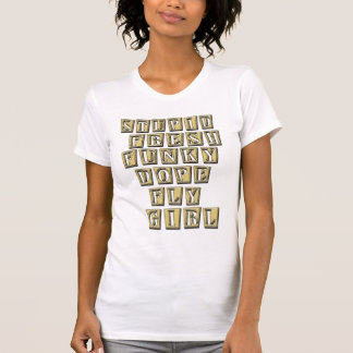 Fly Girl HIP HOP t shirt