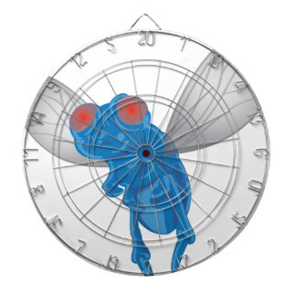 Fly Graphic Dartboard