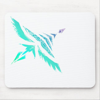 Fly High (Icy) Mouse Pad