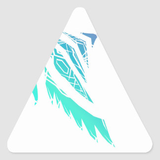 Fly High (Icy) Triangle Sticker