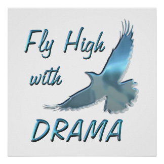Fly High with Drama Print