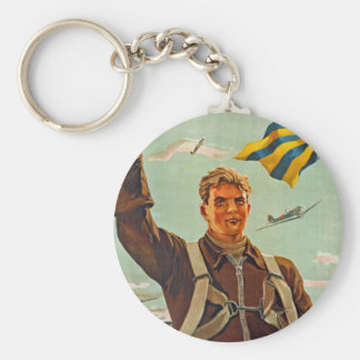 Fly Higher, Further and Faster! Keychains