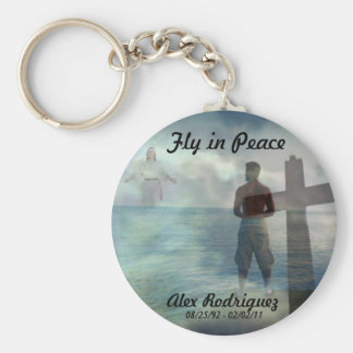 Fly in Peace Key Ring