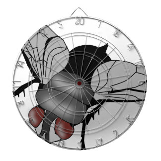 Fly insect dartboard