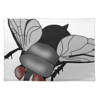 Fly insect placemat